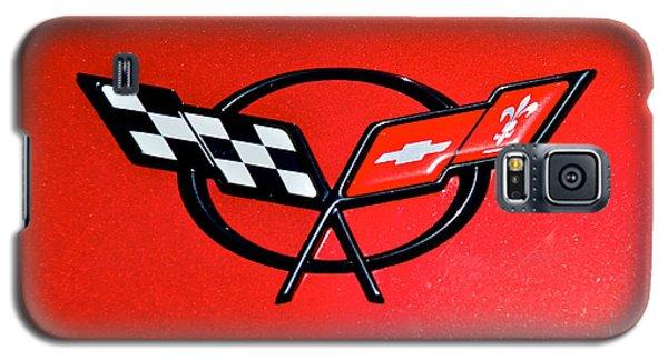 Corvette Logo Galaxy S5 Case