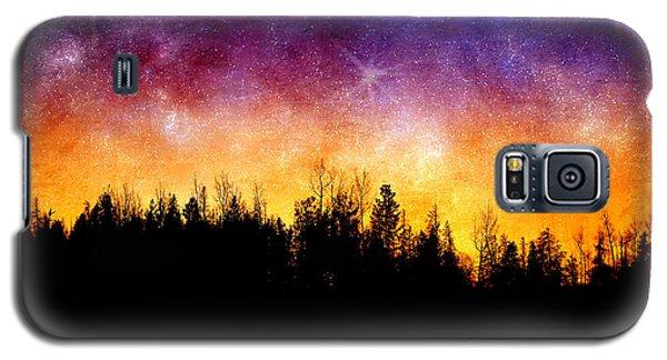 Cosmic Night Galaxy S5 Case