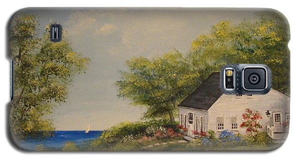 Cottage By The Lake Galaxy S5 Case