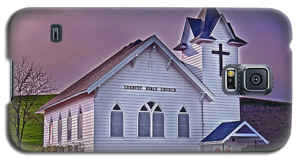 Galaxy S5 Case featuring the photograph Country Church At Sunset Art Prints by Valerie Garner