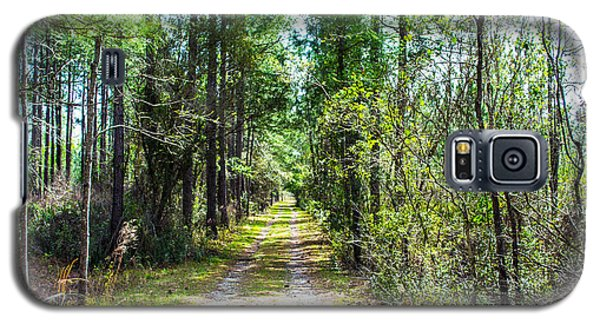 Galaxy S5 Case featuring the photograph Country Path by Shannon Harrington