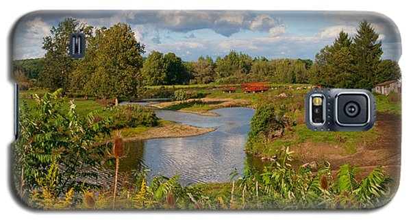 Galaxy S5 Case featuring the photograph Countryside by Cindy Haggerty