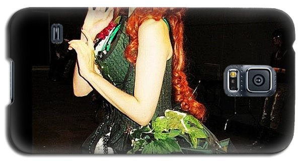 Superhero Galaxy S5 Case - #couture Poison Ivy At #nycc #comiccon by Mariana L