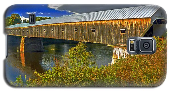 Galaxy S5 Case featuring the photograph Covered Bridge by William Fields