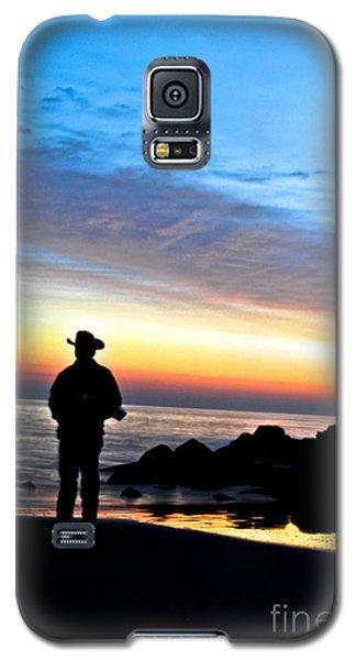Cowboy Sunrise Galaxy S5 Case