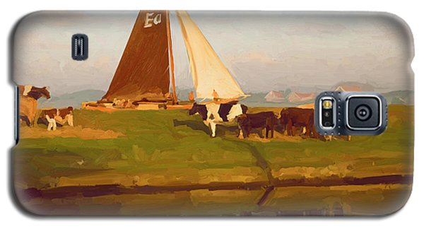 Cows And Sails Galaxy S5 Case