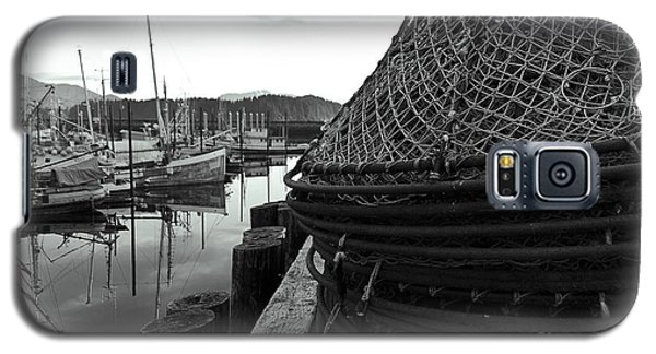 Crab Traps Galaxy S5 Case by Darcy Michaelchuk