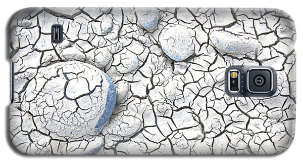 Galaxy S5 Case featuring the photograph Cracked Earth by Nareeta Martin