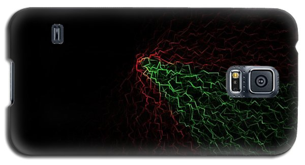 Galaxy S5 Case featuring the digital art Crackle by Jeff Iverson
