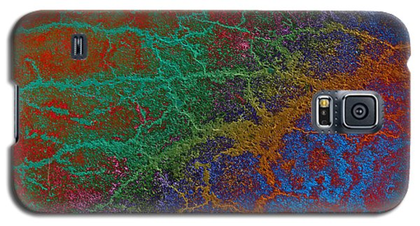 Galaxy S5 Case featuring the photograph Cracks by David Pantuso