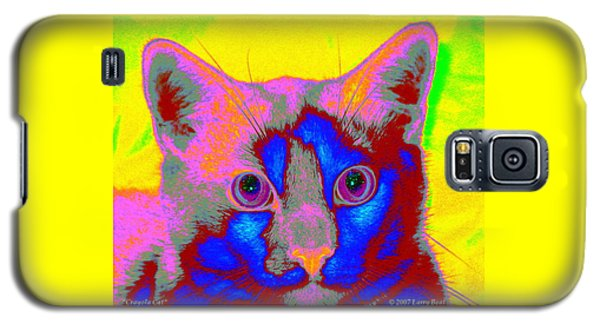 Crayola Cat Galaxy S5 Case