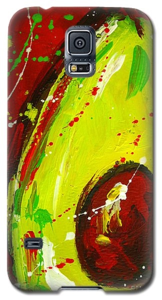 Crazy Avocado 3 - Modern Art Galaxy S5 Case