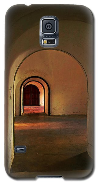 Galaxy S5 Case featuring the photograph Cristobal Corridor by Deborah Smith