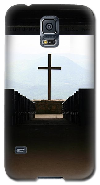 Galaxy S5 Case featuring the photograph Cross 1 by Kelly Hazel