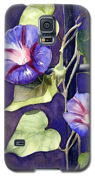 Galaxy S5 Case featuring the painting Cross And Glory by Bonnie Rinier