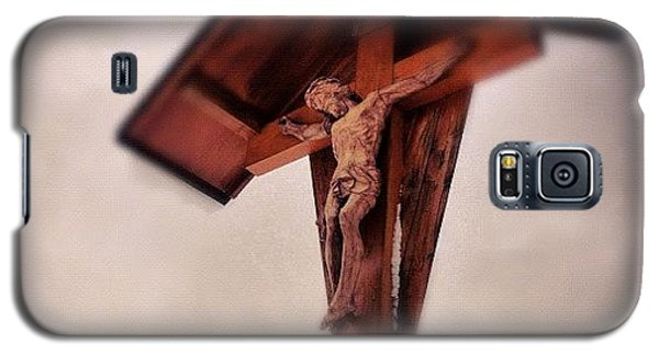 Religious Galaxy S5 Case - Crucifix by Matthias Hauser
