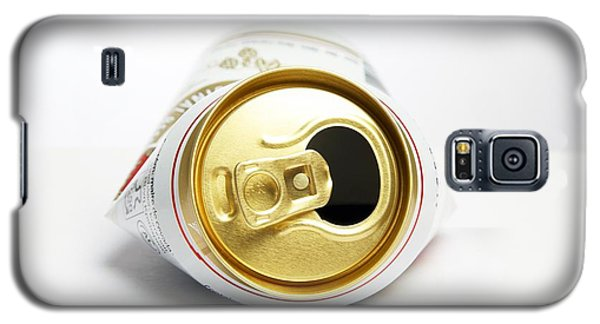 Crushed Beer Can Galaxy S5 Case by Victor De Schwanberg