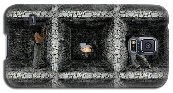 Cube  Galaxy S5 Case