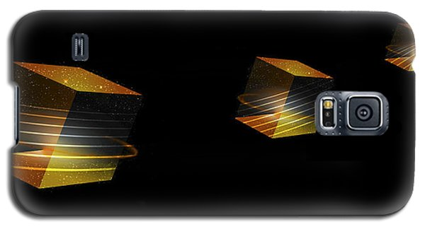 Cube Trails Galaxy S5 Case by Gordon Engebretson