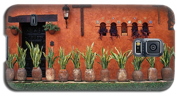 Galaxy S5 Case featuring the photograph Cuernavaca Wall Mexico by John  Mitchell