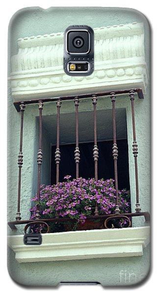 Galaxy S5 Case featuring the photograph Cuernavaca Window  Mexico by John  Mitchell