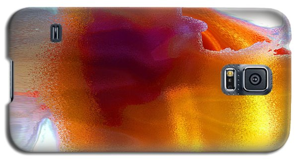 Galaxy S5 Case featuring the digital art Curiously Refreshing by Ginny Schmidt