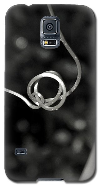 Galaxy S5 Case featuring the photograph Curls And Swirls by Ester  Rogers