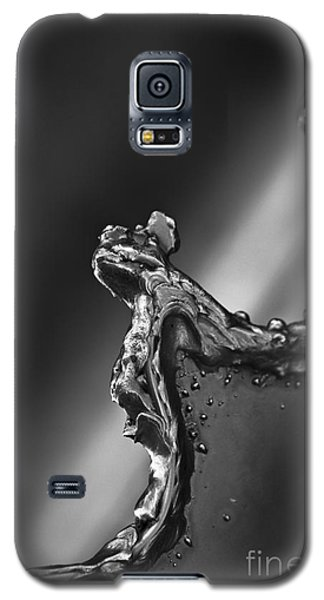 Galaxy S5 Case featuring the photograph Cutting Edge Sibelius Monument by Clare Bambers