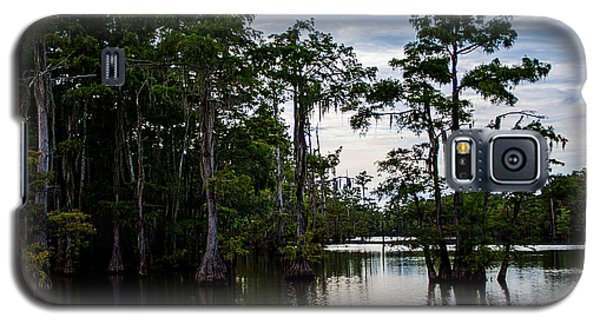 Galaxy S5 Case featuring the photograph Cypress Swamp In Louisiana by Ester  Rogers