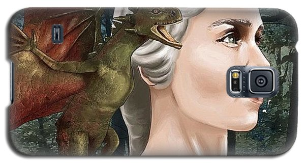 Nerd Galaxy S5 Case - Daenerys by Tony Santiago