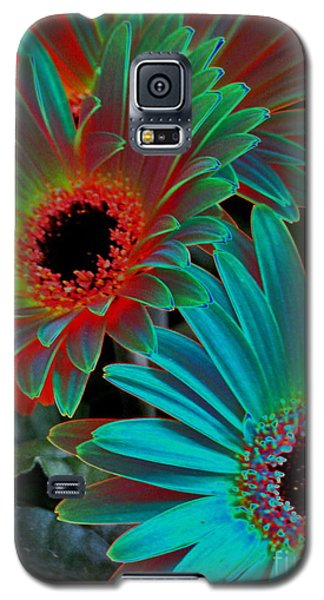 Galaxy S5 Case featuring the photograph Daisies From Another Dimension by Rory Sagner