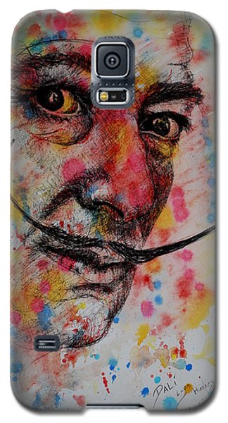 Galaxy S5 Case featuring the painting Dali by Lynn Hughes