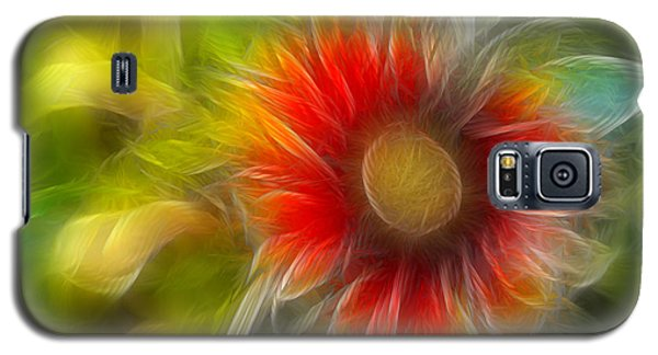 Galaxy S5 Case featuring the photograph Dalia Pseudo Fractal by Lynne Jenkins