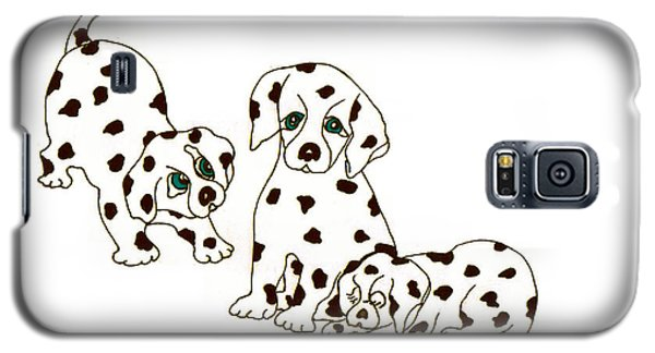 Dalmatian Puppies Galaxy S5 Case