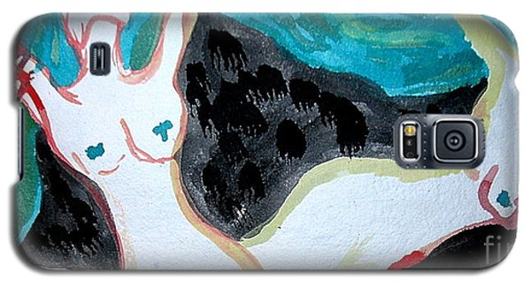 Galaxy S5 Case featuring the painting Dancing by Amy Sorrell