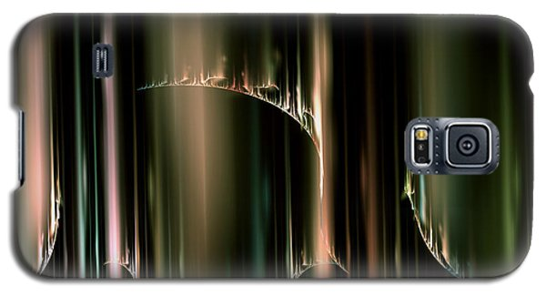 Dancing Auroras Curtains In The Sky Galaxy S5 Case by Richard Ortolano