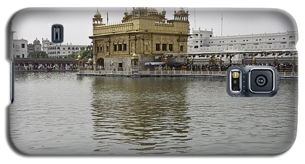 Galaxy S5 Case featuring the photograph Darbar Sahib And Sarovar Inside The Golden Temple by Ashish Agarwal