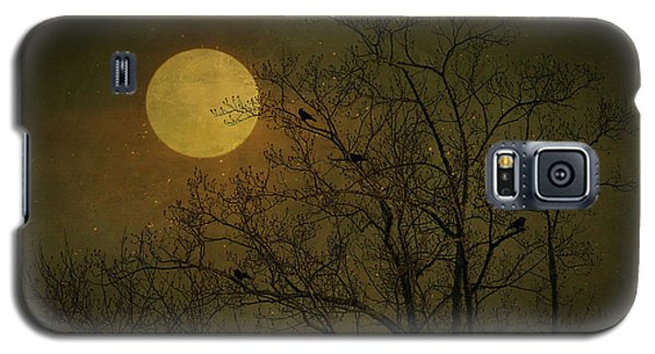 Galaxy S5 Case featuring the photograph Dark Moon by Robin Dickinson