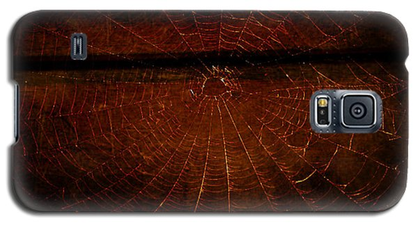 Galaxy S5 Case featuring the photograph Dark Web by Robin Dickinson
