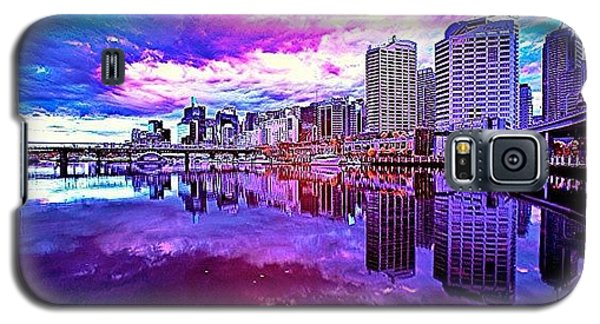 Cool Galaxy S5 Case - Darling Harbour Is A Harbour Adjacent by Tommy Tjahjono