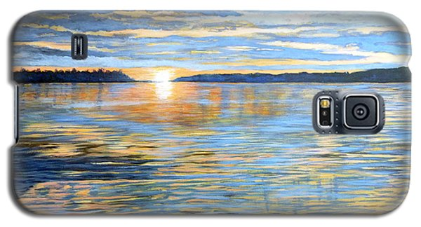Galaxy S5 Case featuring the painting Davidson Quebec by Tom Roderick