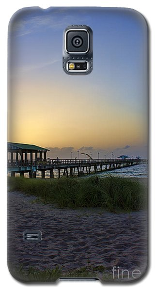 Galaxy S5 Case featuring the photograph Dawn Is The Time by Anne Rodkin