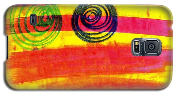 Galaxy S5 Case featuring the painting Dazed by Patrick Morgan