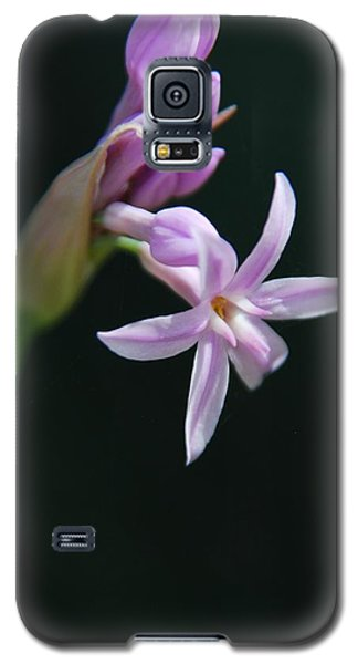 Galaxy S5 Case featuring the photograph Flowering Bud by Tam Ryan