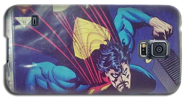 Superhero Galaxy S5 Case - #dccomics #superman by Melissa Wyatt