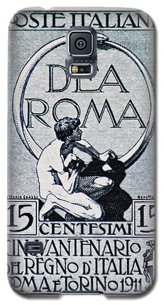 Galaxy S5 Case featuring the photograph Dea Roma by Andy Prendy