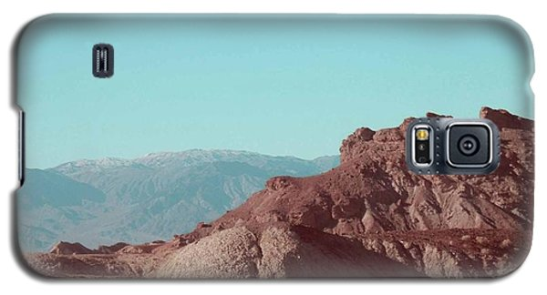 Rocky Galaxy S5 Case - Death Valley Mountains by Naxart Studio