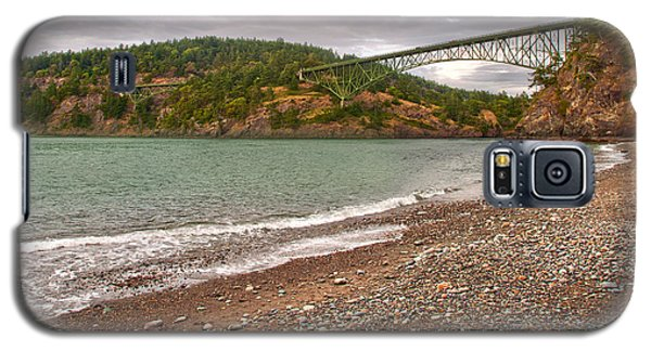 Deception Pass Washington Galaxy S5 Case by Artist and Photographer Laura Wrede