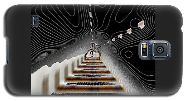 Galaxy S5 Case featuring the digital art Decisions No. 3 by Paula Ayers