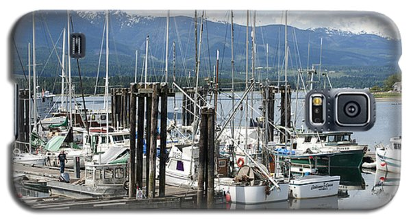Deep Bay Harbor Galaxy S5 Case by Artist and Photographer Laura Wrede